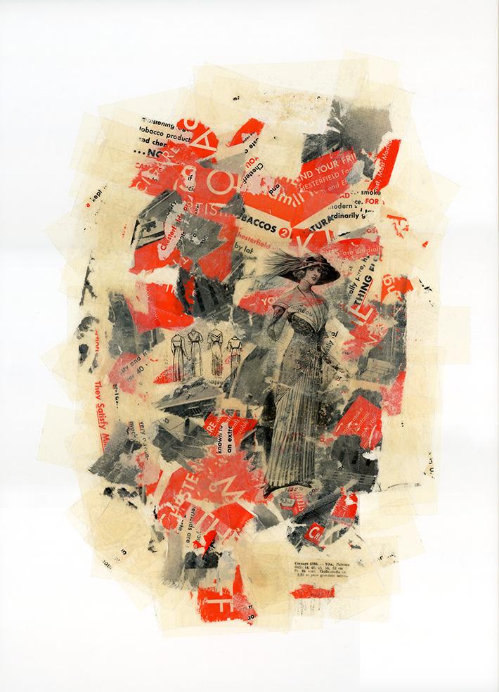 Zonder titel 200, 45 x 62 cm, 2009
