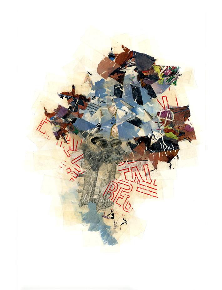 Zonder titel 201, 60 x 80 cm, 2009