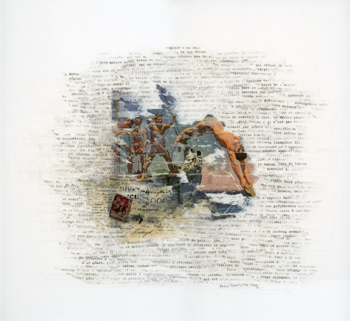 Zonder titel 203, 38 x 36 cm, 2009