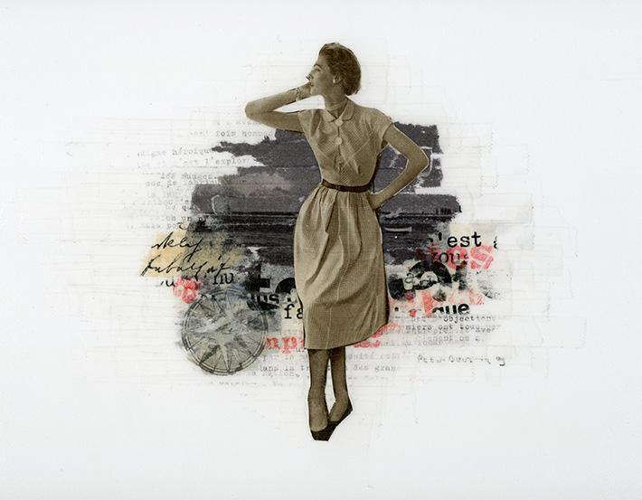 Zonder titel 209, 33 x 21 cm, 2009 (verkocht)