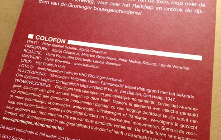 Plattegrond Groningen