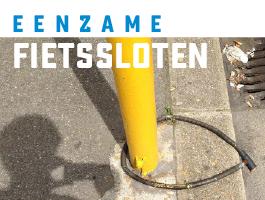 Eenzame fietssloten